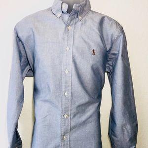 Ralph Lauren Men's Shirt Long Sleeve Size 16